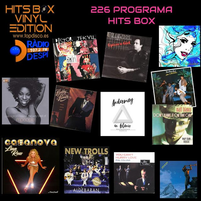 226 PROGRAMA HITS BOX - RADIO DESPI 107.2 FM - DJ. XAVI TOBAJA