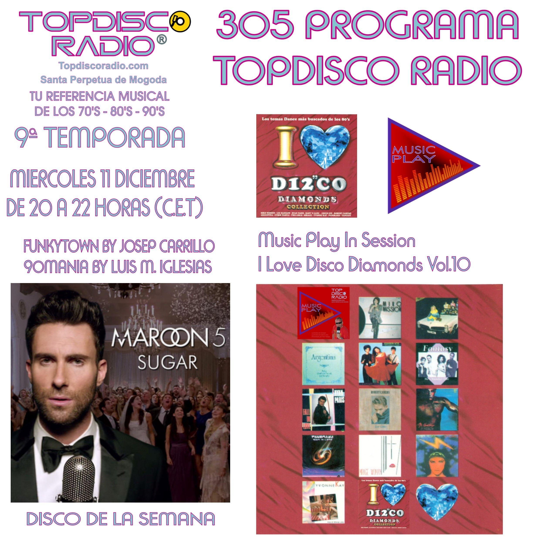305 Programa Topdisco Radio