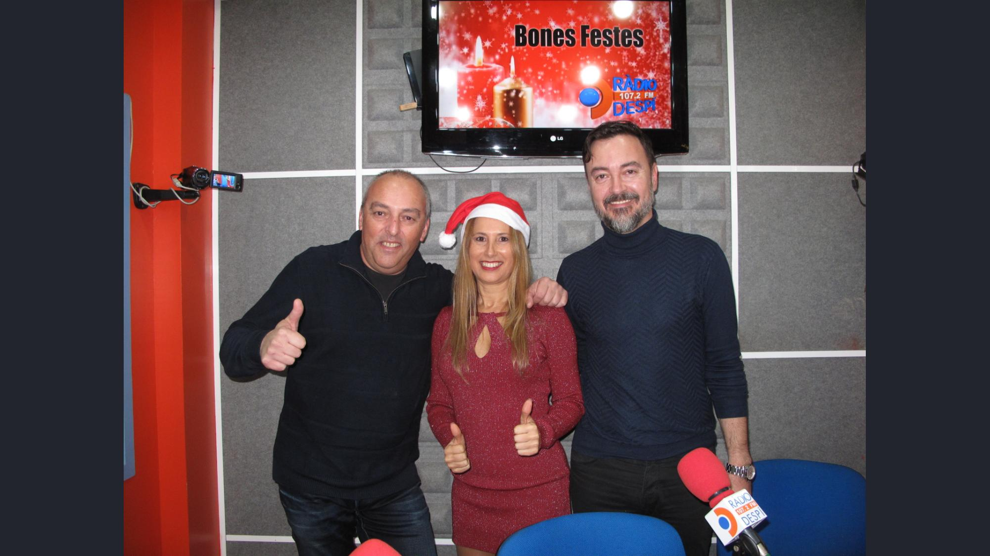 Radio Despi Marato Joguines 2019 Angy Bustamante - Jose Antonio Meca - Xavi Tobaja de Hits Box Topdisco Radio.