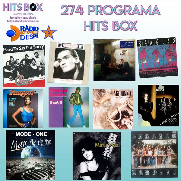 274 Programa Hits Box - Topdisco Radio - Dj- Xavi Tobaja