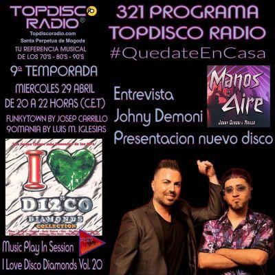 321 Programa Topdisco Radio Music Play I Love Disco Diamonds Vol.20 In Session - Funkytown - 90mania – 29.04.2020