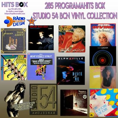 285 Programa Hits Box - Studio 54 Barcelona Vinyl Collection - Topdisco Radio - Dj Xavi Tobaja