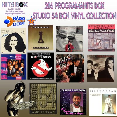 286 Programa Hits Box - Studio 54 Barcelona Vinyl Collection - Topdisco Radio - Dj. Xavi Tobaja