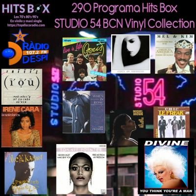 290 Programa Hits Box - Studio 54 Barcelona Vinyl Collection Spanish Pop - Topdisco Radio - Dj. Xavi Tobaja