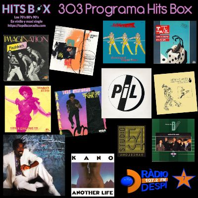 303 Programa Hits Box - Studio 54 Barcelona Vinyl Collection - Topdisco Radio - Dj Xavi Tobaja