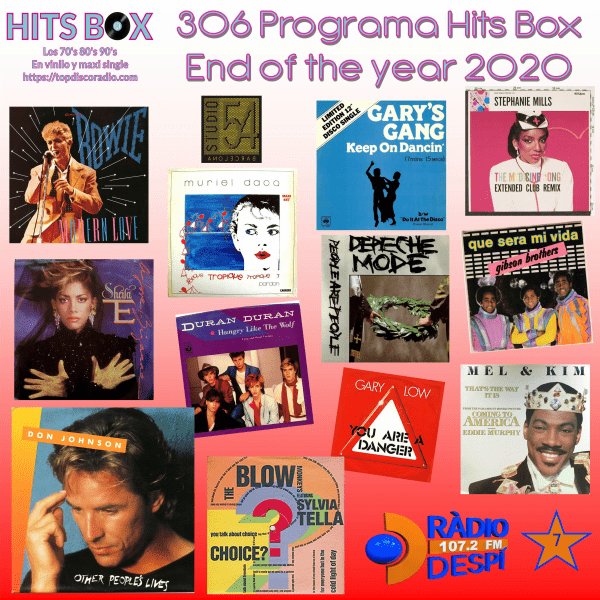 306 Programa Hits Box - The Last Program Year 2020 -Topdisco Radio - Dj.Xavi Tobaja