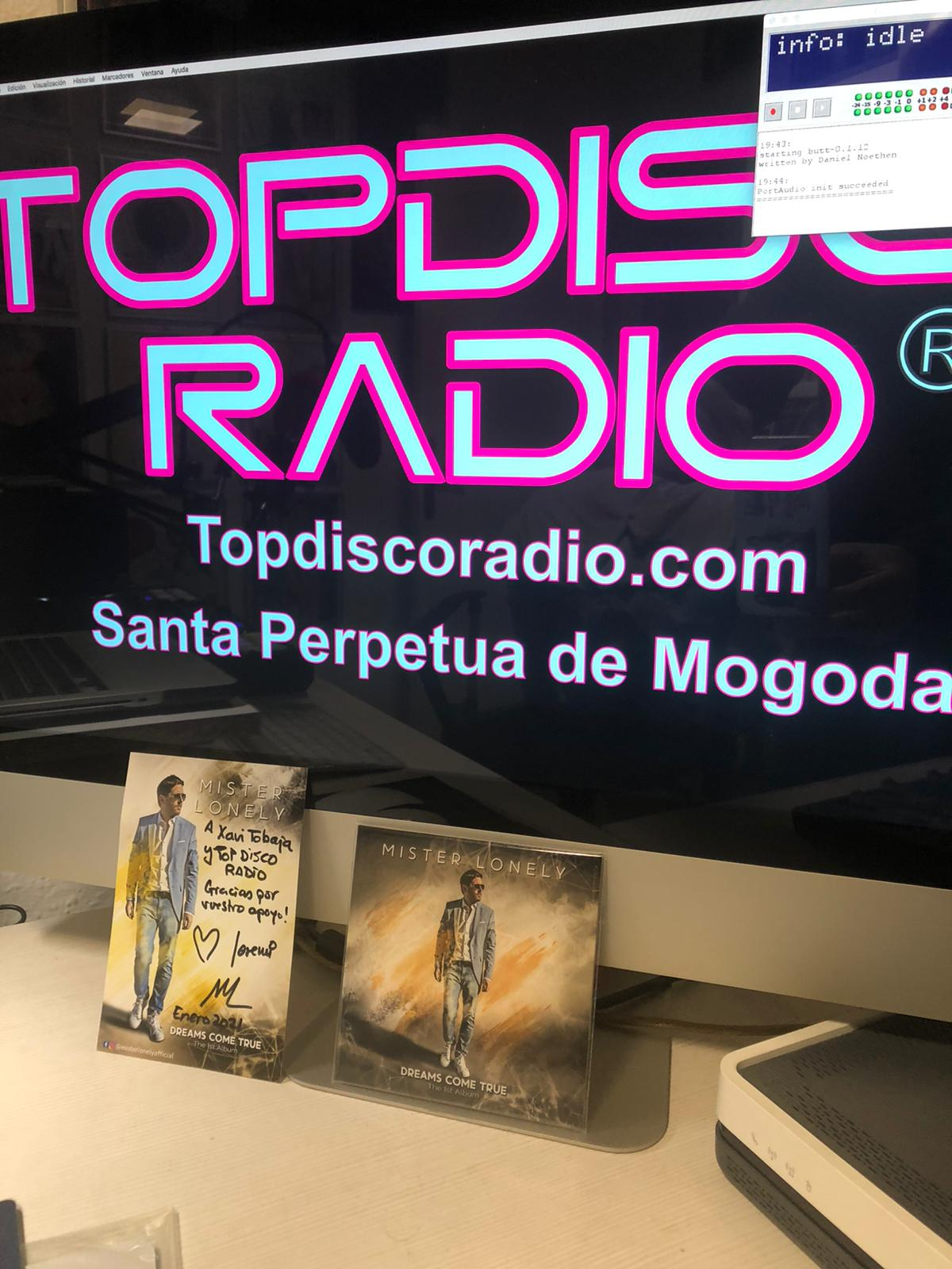 Mr Lonely The First Album en Topdisco Radio