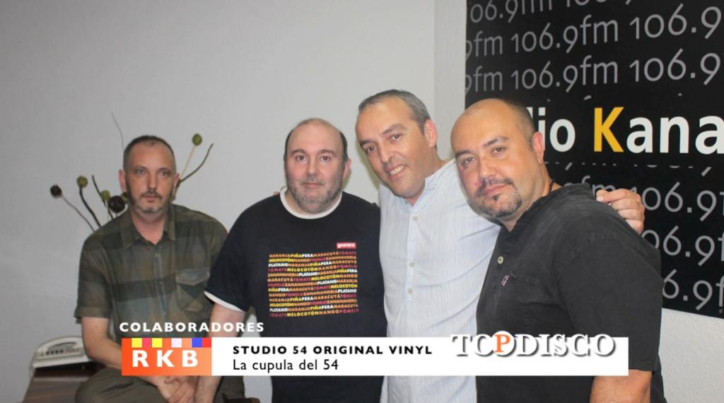 Studio 54 Barcelona Vinyl Collection en Topdisco Radio en RKB Barcelona - Xavi Tobaja