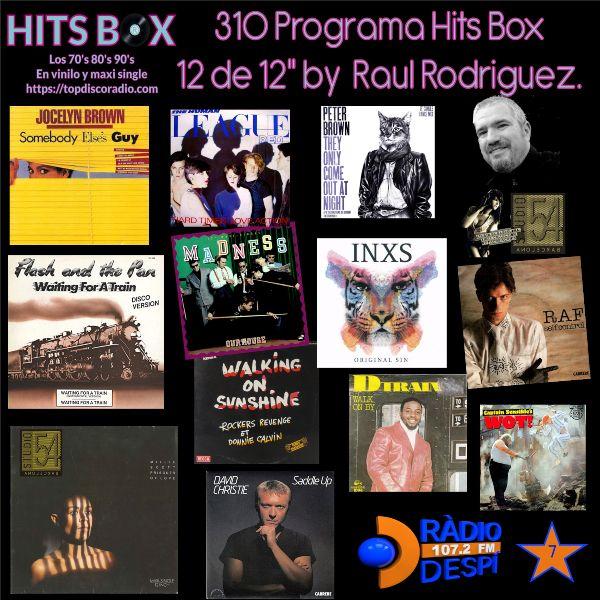 310 Programa Hits Box - Raul Rodriguez - Topdisco Radio - Dj. Xavi Tobaja
