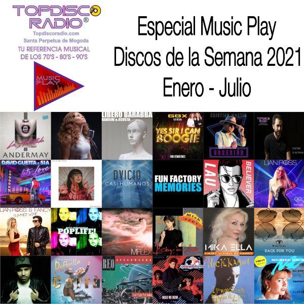 Music Play Programa 136 Fin de Temporada Especial Discos de la Semana 2021