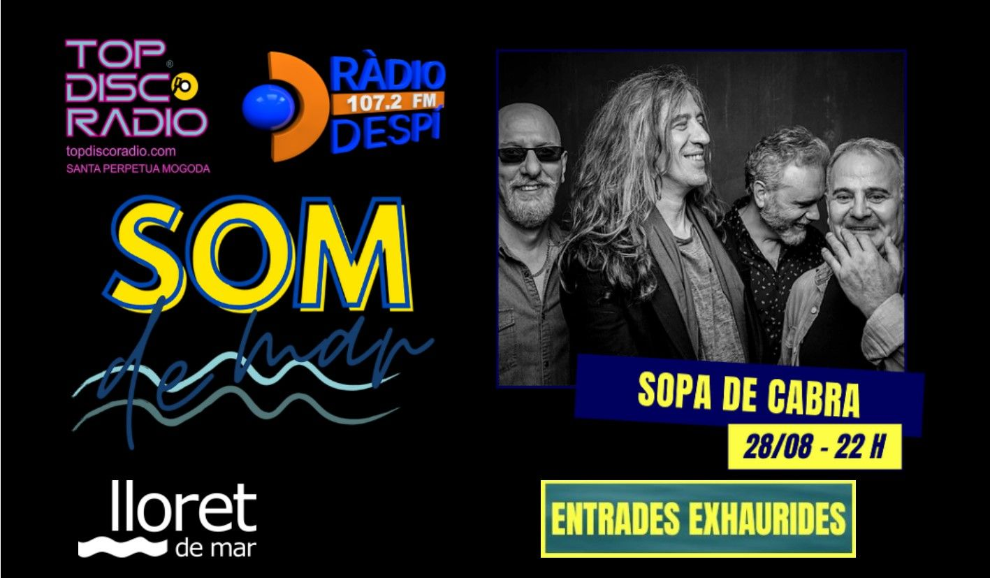 Sopa de Cabra - Festival Som de Mar 2021 - Topdisco Radio - Radio Despi