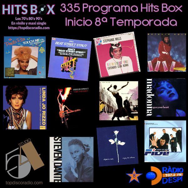 335 Programa Hits Box - Xavi Tobaja - Topdisco Radio - 8 Temporada Radio Despi