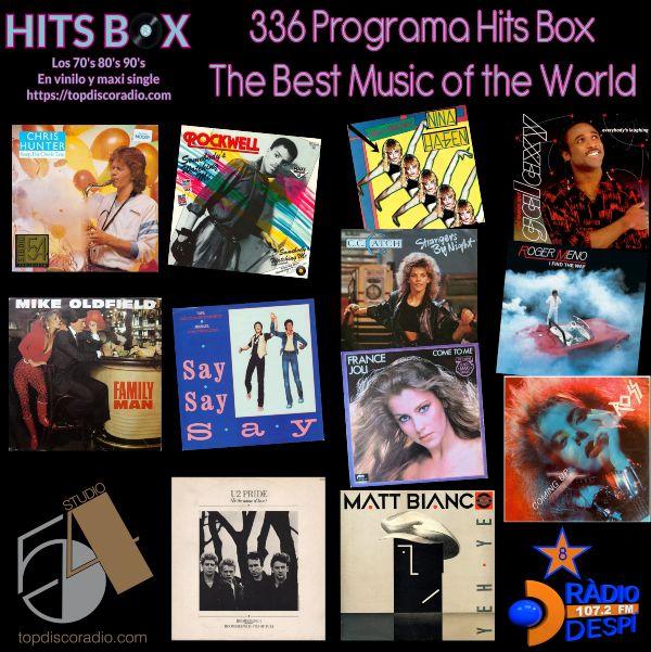 336 Programa Hits Box - Xavi Tobaja - Topdisco Radio