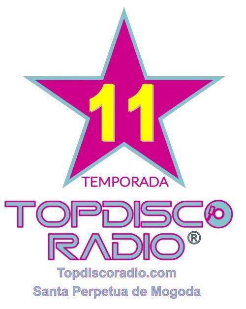 LOGO TOPDISCO RADIO 11 TEMPORADA