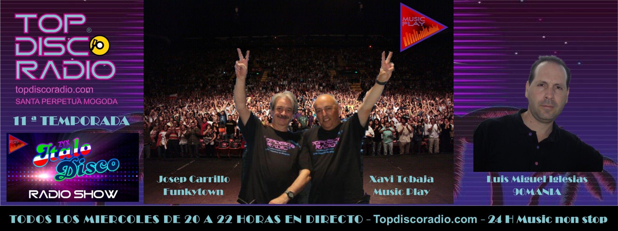 TOPDISCO RADIO 11 TEMPORADA ZYX