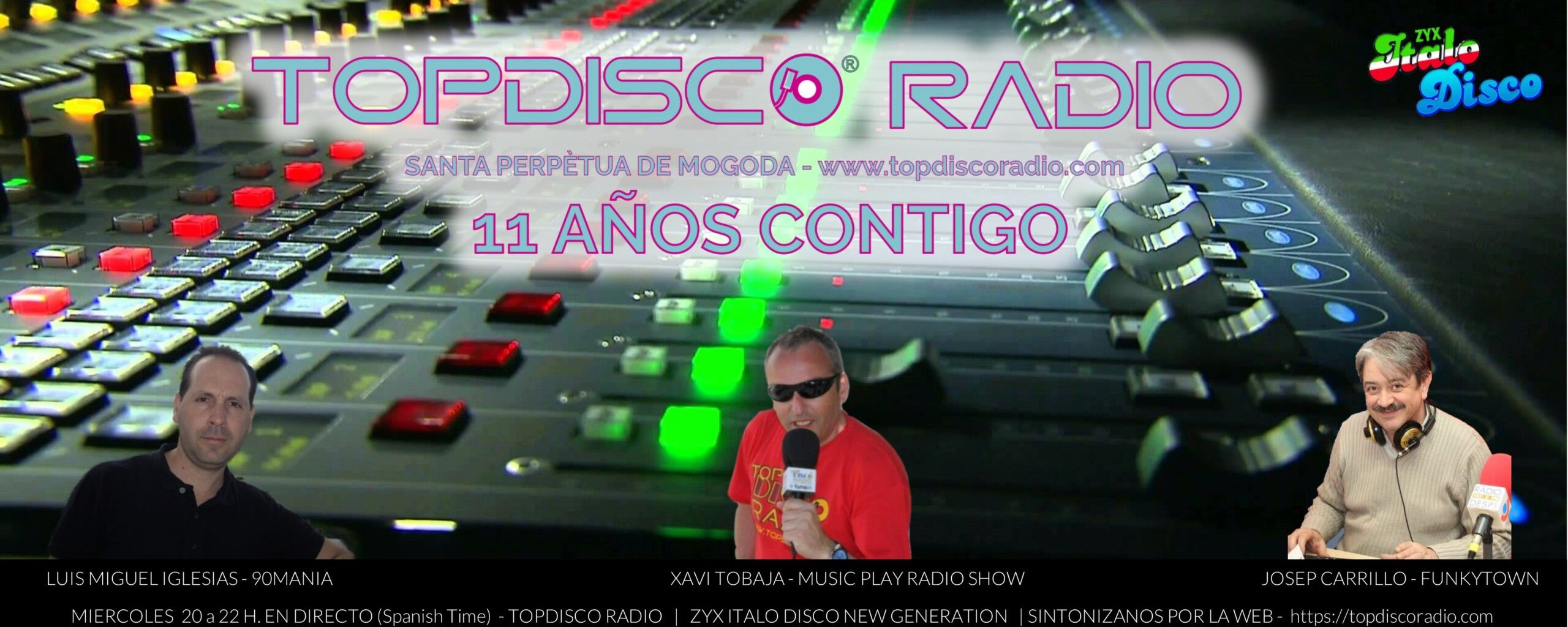 TOPDISCO RADIO TEMPORADA 2021-2022
