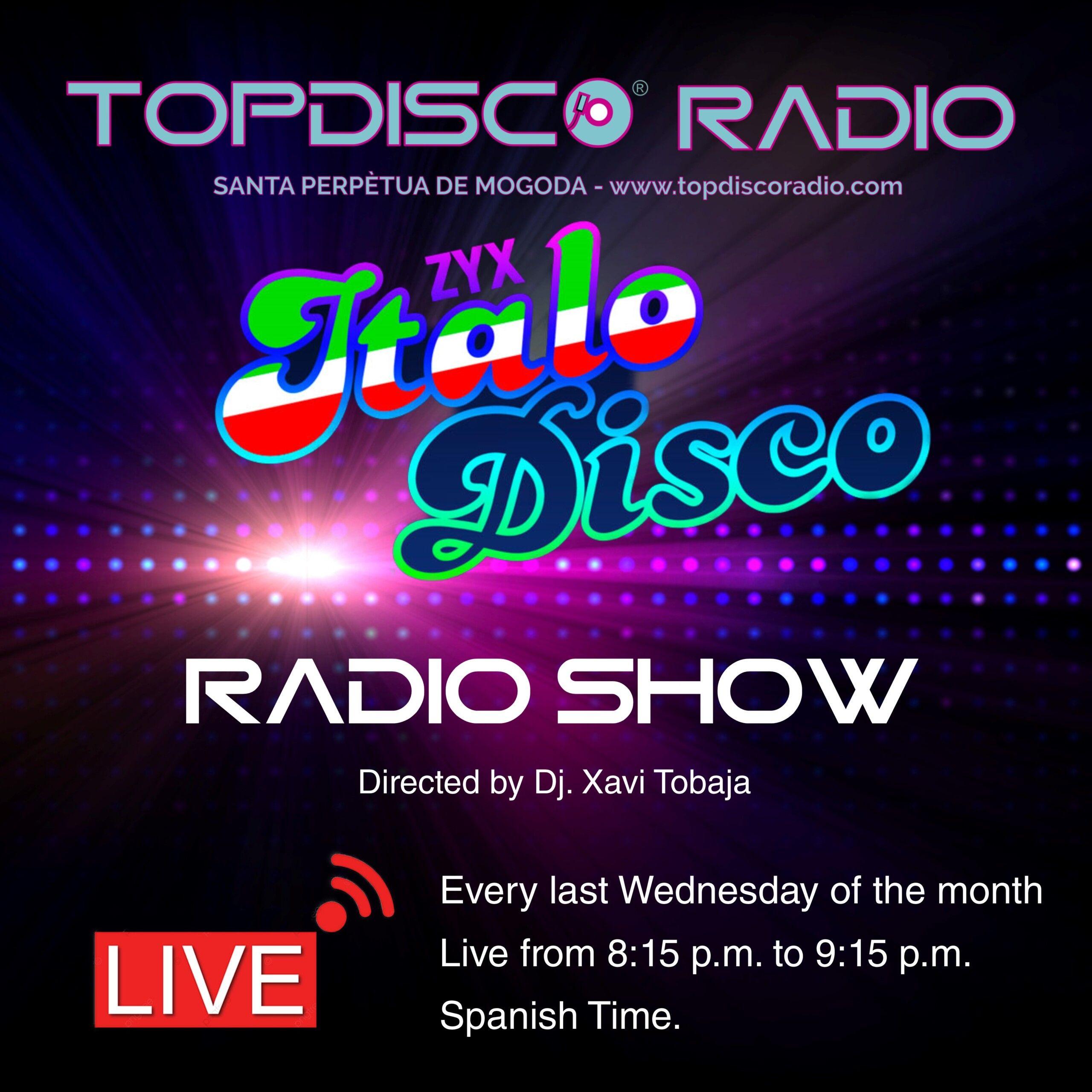 ZYX ITALO DISCO RADIO SHOW - MUSIC PLAY - TOPDISCO RADIO